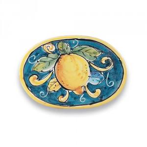 Oval Tile - Lemons