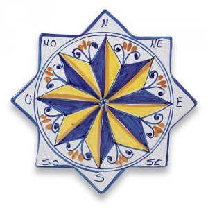 Star-shaped Compass Tile