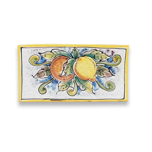Rectangular Tile - Oranges and Lemons
