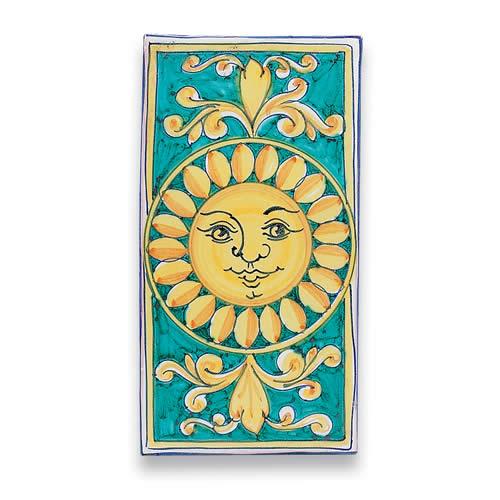 Rectangular Tile - Sun
