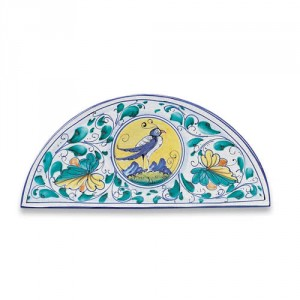 Wide Arch-shaped Tile - Bird