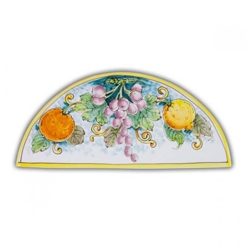 Wide Arch-Shaped Tile - Fruit