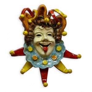Jolly Jester Wall Hanging - Large