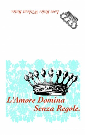 Love Rules Italian Proverb Dishtowel