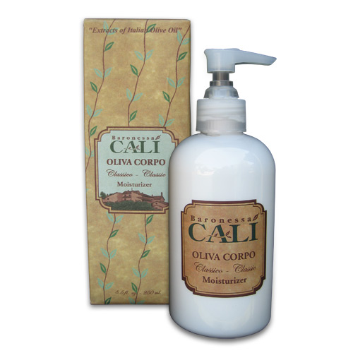 Cali Oliva Corpo Moisturizer - Made in Italy with olive oil