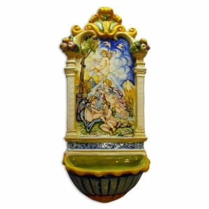 Leona Angels Holy Water Font