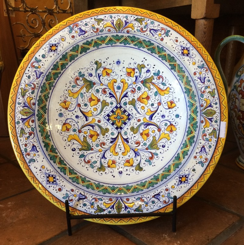 Firenze Deruta Large Decorative Wall Platter Italian