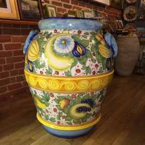 Very Large Scenic Urn