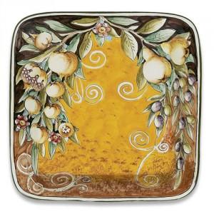 Ornato Square Plate