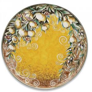 Ornato Round Platter