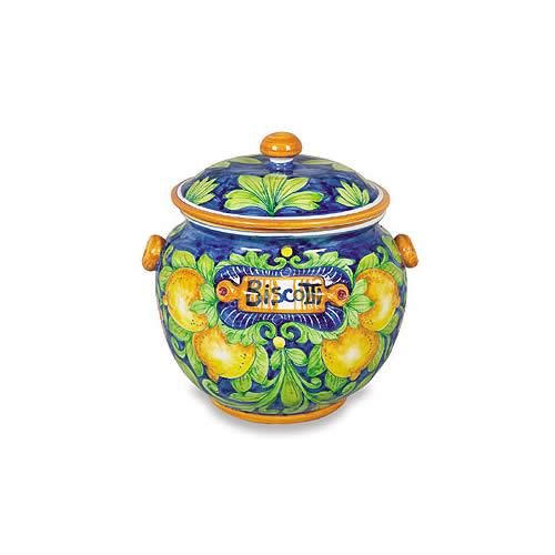 Ornato Biscotti Jar - Lemons