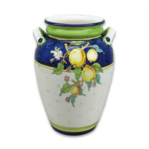 Ornato Urn with Lemons