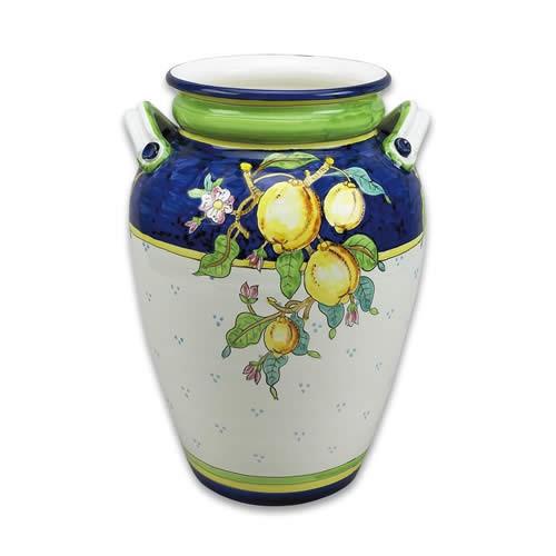 Ornato Urn with Lemons