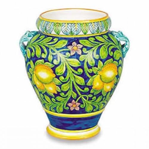 Ornato Small Urn - Lemons