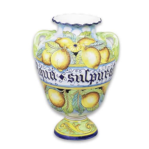 Ornato Decorative Pharmaceutical Jar or Urn