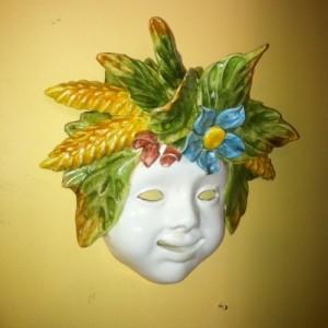 Quattro Stagioni Masks Large - Estate
