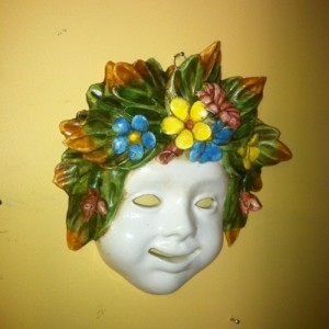 Quattro Stagioni Masks Large - Primavera