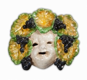 4 Seasons Mask Small - Autunno -Bacchus