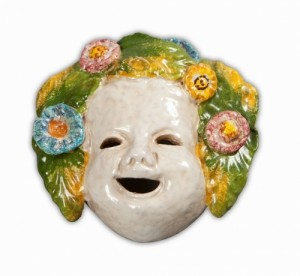 4 Seasons Mask Large - Primavera