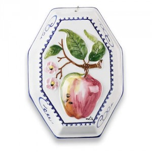 Quadri Wall Hanging - Apple