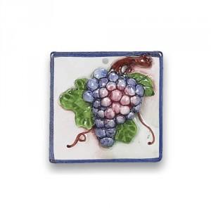 3-D Tile - Grapes