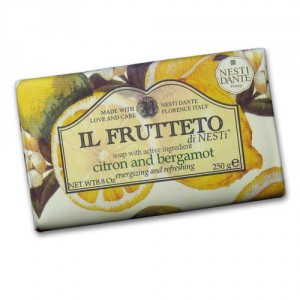 Il Frutteto Citron and Bergamot Italian Soap with Olive Oil