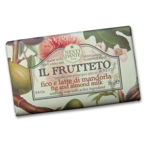Il Frutteto Fig and Almond Milk Italian Soap with Olive Oil