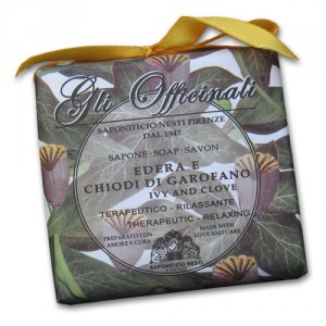Gli Officinali Ivy and Clove Italian Soap
