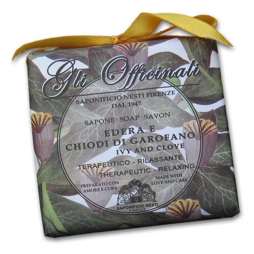 Gli Officinali Ivy and Clove Italian Soap