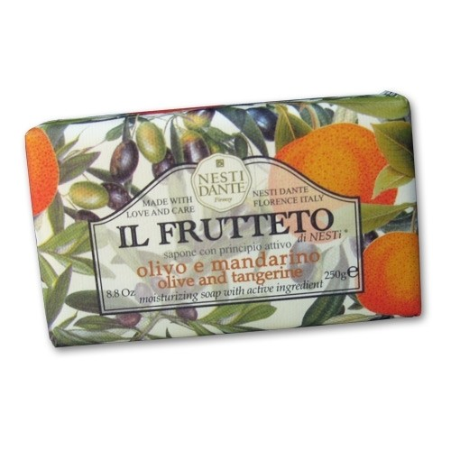 Il Frutteto Olive Oil and Tangerine Italian Soap