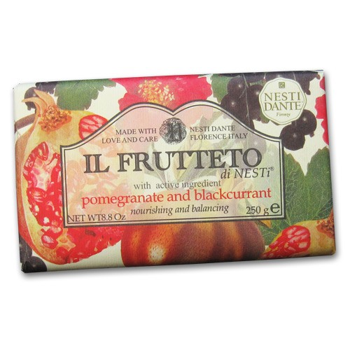 Il Frutteto Pomegranate and Black Currant Italian Soap