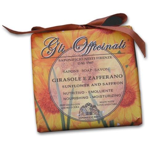 Gli Officinali Sunflower and Saffron Italian Soap