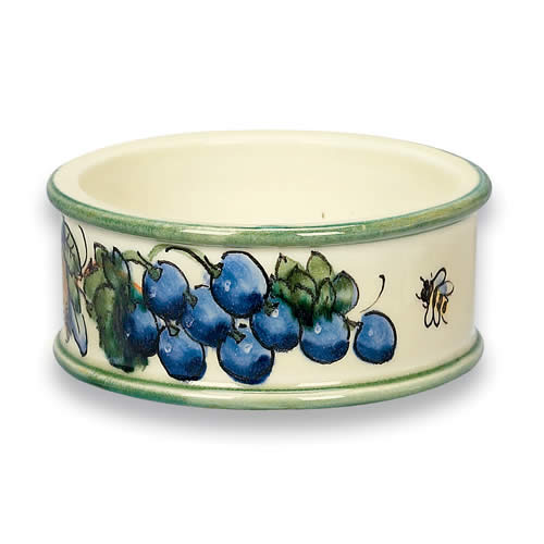 Toscana Bees Ceramic Wine Coaster
