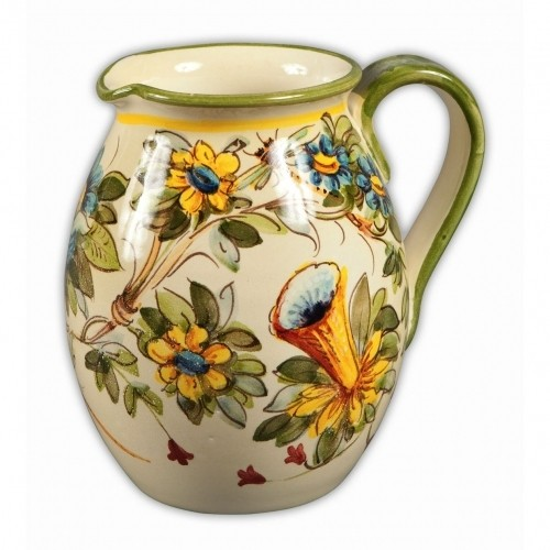 Toscana Fiori Wine Pitcher