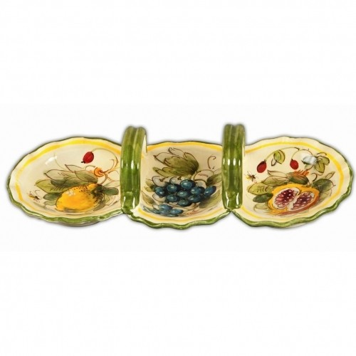 Toscana Bees Three Part Dish