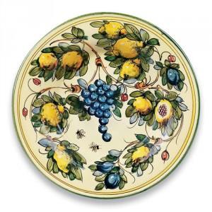 Toscana Bees Ceramic Round Platter