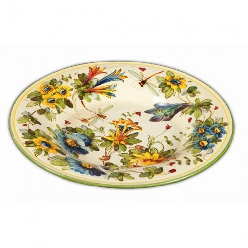 Toscana Fiori Round Platter