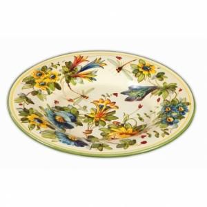 Toscana Fiori Oval Platter