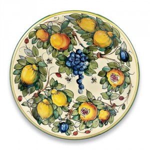 Toscana Bees Large Round Ceramic Platter