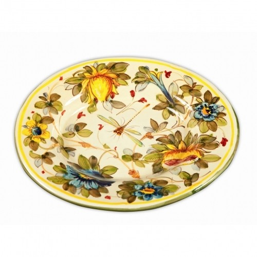 Toscana Fiori Large Round Platter