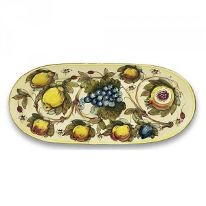 Toscana Bees Oval Platter