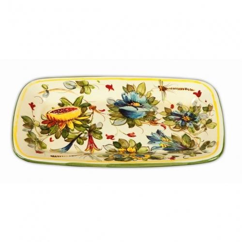 Toscana Fiori Rectangular Platter