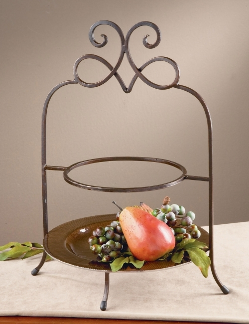 Two Plate Table Top Stand