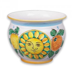 Large Cachepot - Sun