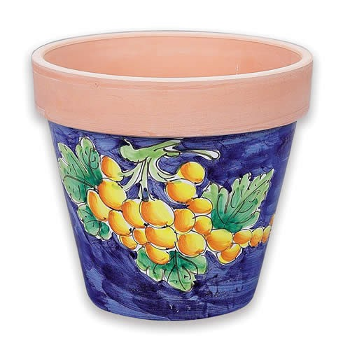 Medium Flowerpot - Grapes