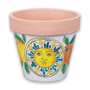 Medium Flowerpot - Sun-Fruit