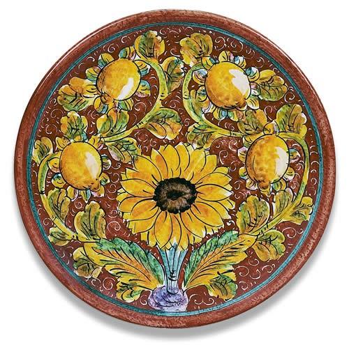 Girasole Round Platter