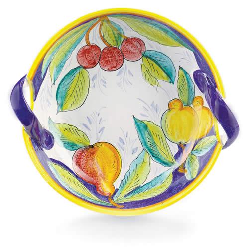 Frutta Two-Handle Bowl