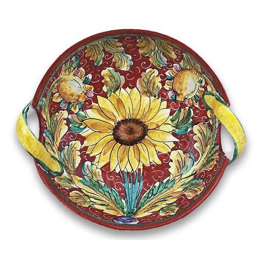 Girasole Two-Handled Bowl