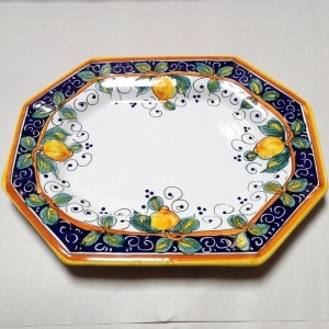 Alcantara Octagonal Platter